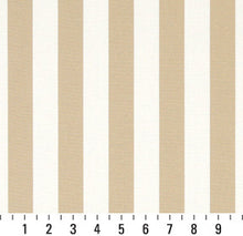 Load image into Gallery viewer, Essentials Outdoor Beige Sand Canopy Stripe Upholstery Fabric