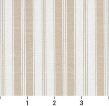 Load image into Gallery viewer, Essentials Outdoor Beige Sand Classic Stripe Upholstery Fabric