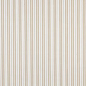 Essentials Outdoor Beige Sand Classic Stripe Upholstery Fabric