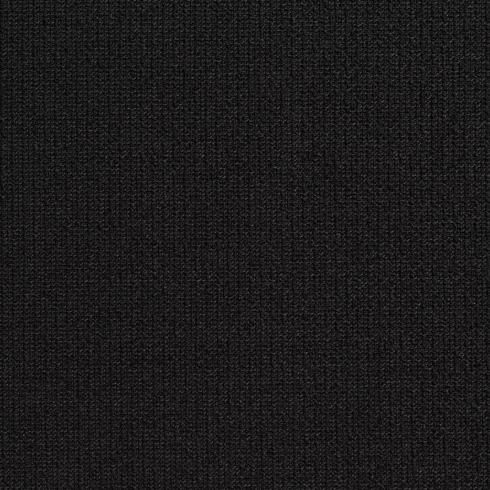 Essentials Outdoor Upholstery Drapery Fabric / Black