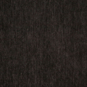 Essentials Chenille Black Upholstery Fabric / Charcoal