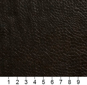 Essentials Breathables Black Heavy Duty Faux Leather Upholstery Vinyl / Chestnut