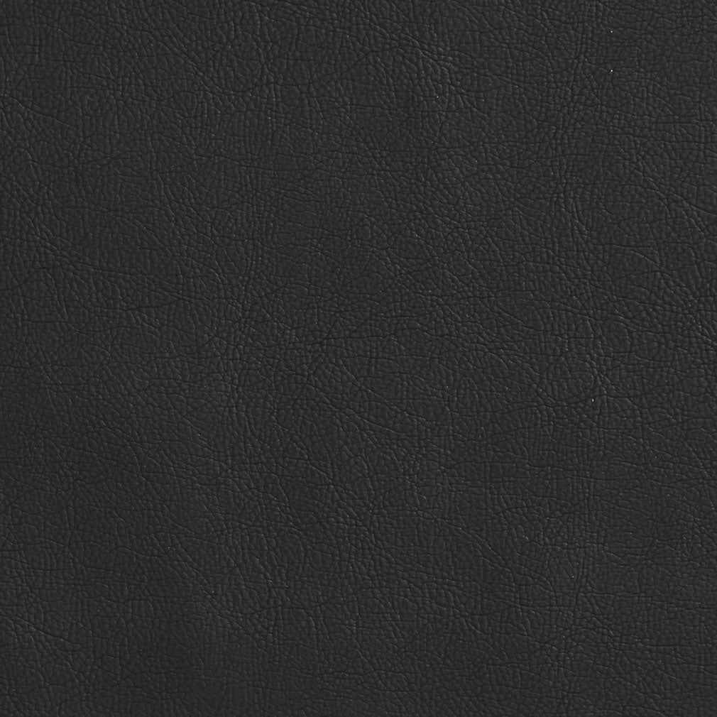 Essentials Breathables Black Heavy Duty Faux Leather Upholstery Vinyl / Coal