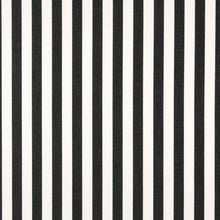 Load image into Gallery viewer, Essentials Outdoor Black White Midnight Canopy Stripe Upholstery Fabric