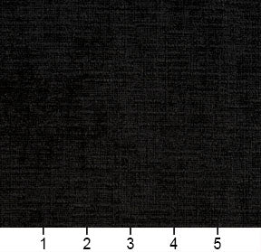 Essentials Crypton Black Upholstery Drapery Fabric / Onyx