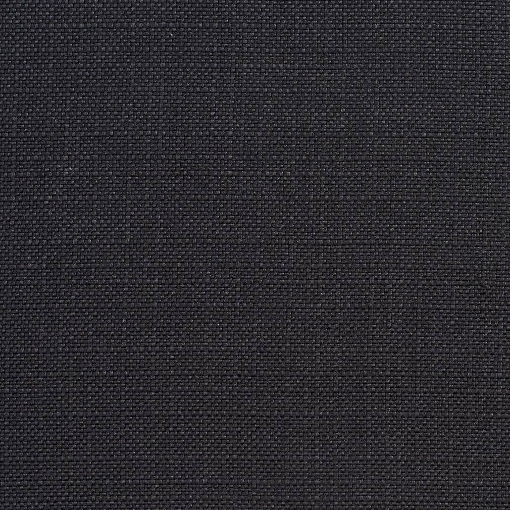 Essentials Black Upholstery Drapery Fabric / Onyx