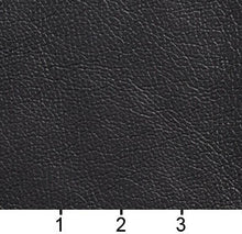 Load image into Gallery viewer, Essentials Breathables Black Heavy Duty Faux Leather Upholstery Vinyl / Teak