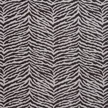 Load image into Gallery viewer, Essentials Chenille Black White Animal Pattern Zebra Tiger Upholstery Fabric