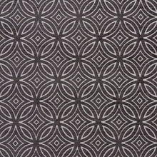 Load image into Gallery viewer, Essentials Chenille Black White Geometric Medallion Upholstery Fabric