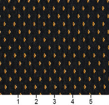 Load image into Gallery viewer, Essentials Black Yellow Brown Beige Upholstery Fabric / Espresso Dot