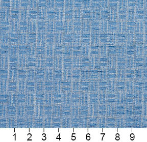 Essentials Blue Abstract Geometric Upholstery Fabric
