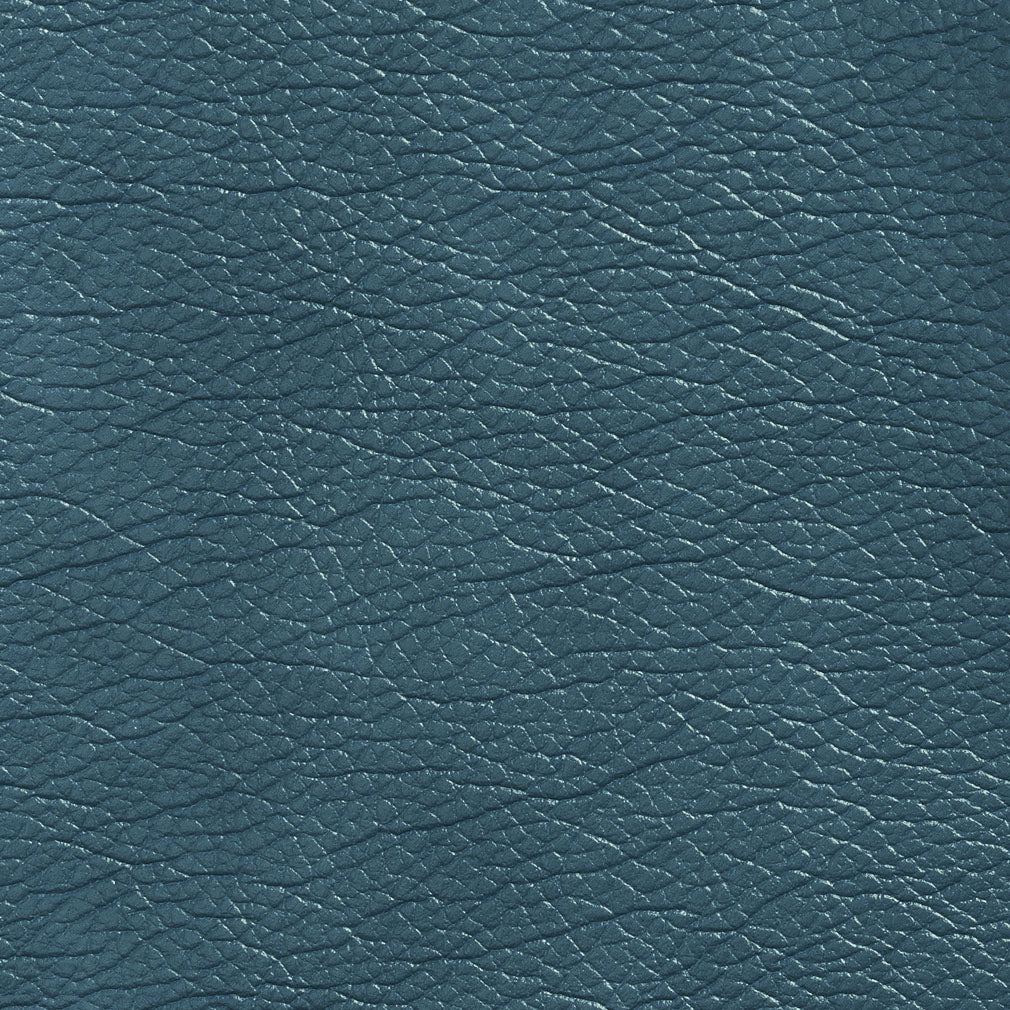 Essentials Breathables Blue Heavy Duty Faux Leather Upholstery Vinyl / Azure
