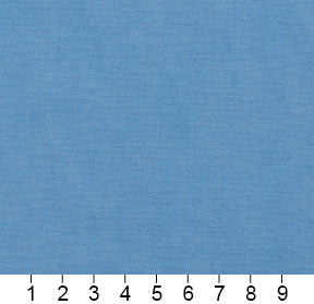 Essentials Cotton Duck Blue Upholstery Drapery Fabric / Bluebell