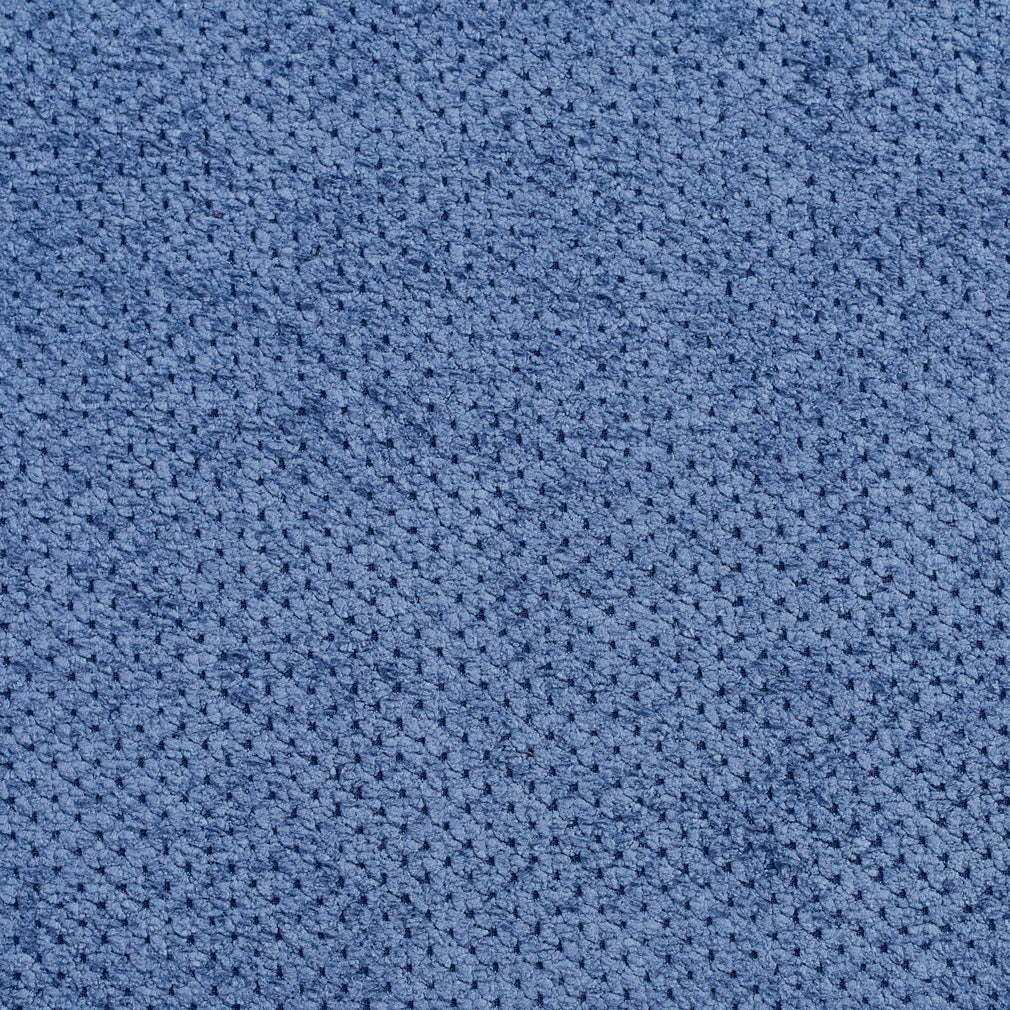 Essentials Blue Fade Resistant Upholstery Fabric