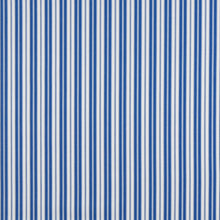 Load image into Gallery viewer, Essentials Outdoor Blue White Coastal Classic Stripe Upholstery Fabric