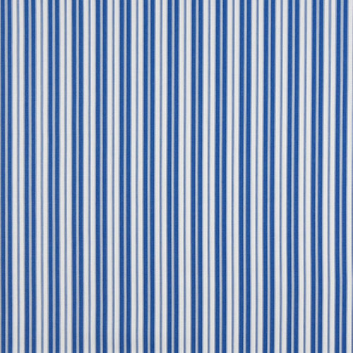 Essentials Outdoor Blue Coastal Classic Stripe Upholstery Fabric