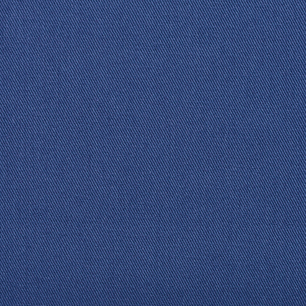 Cotton Twill Blue Upholstery Fabric Dresden Fabric Bistro
