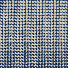 Load image into Gallery viewer, Essentials Blue Ivory Geometric Upholstery Fabric
