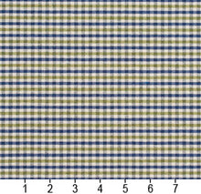 Load image into Gallery viewer, Essentials Blue Lime White Plaid Upholstery Fabric / Laguna Check