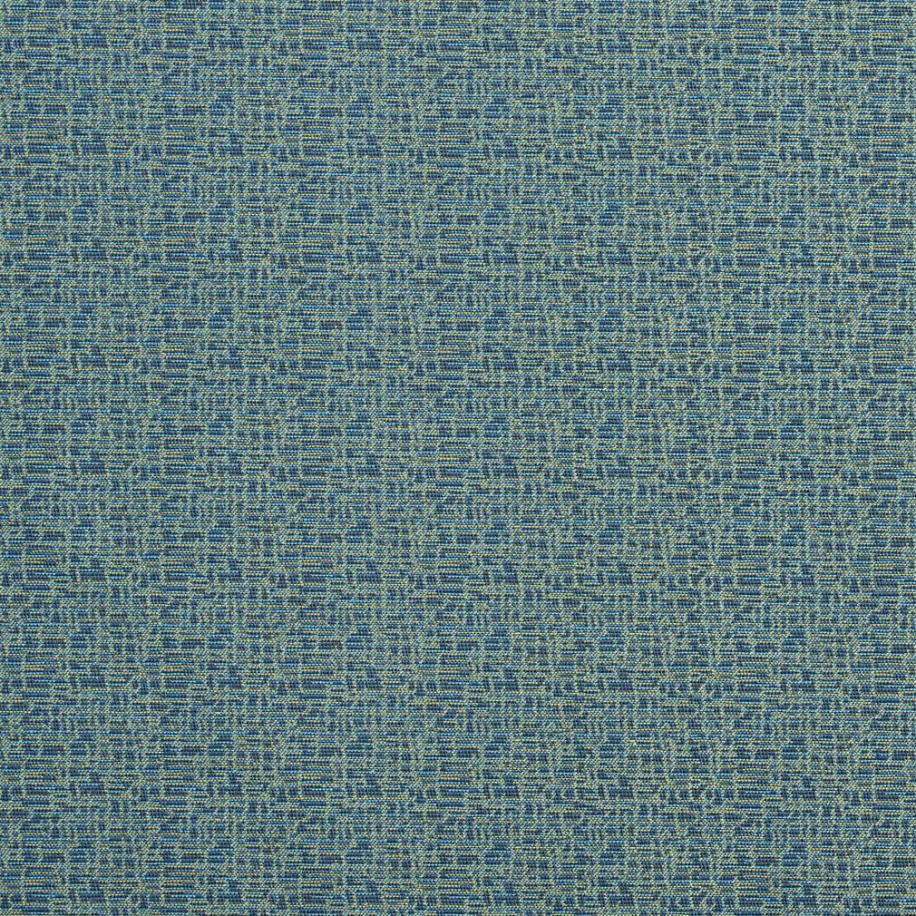 Essentials Stain Repellent Upholstery Fabric Blue / Mosaic Aegean