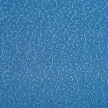 Load image into Gallery viewer, Essentials Blue Nautical Coral Pattern Damask Upholstery Fabric
