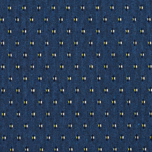 Essentials Blue Navy Lime White Upholstery Fabric / Laguna Dot