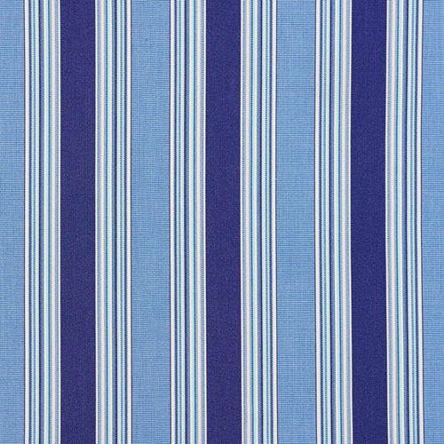 Essentials Outdoor Blue Ocean Stripe Upholstery Fabric