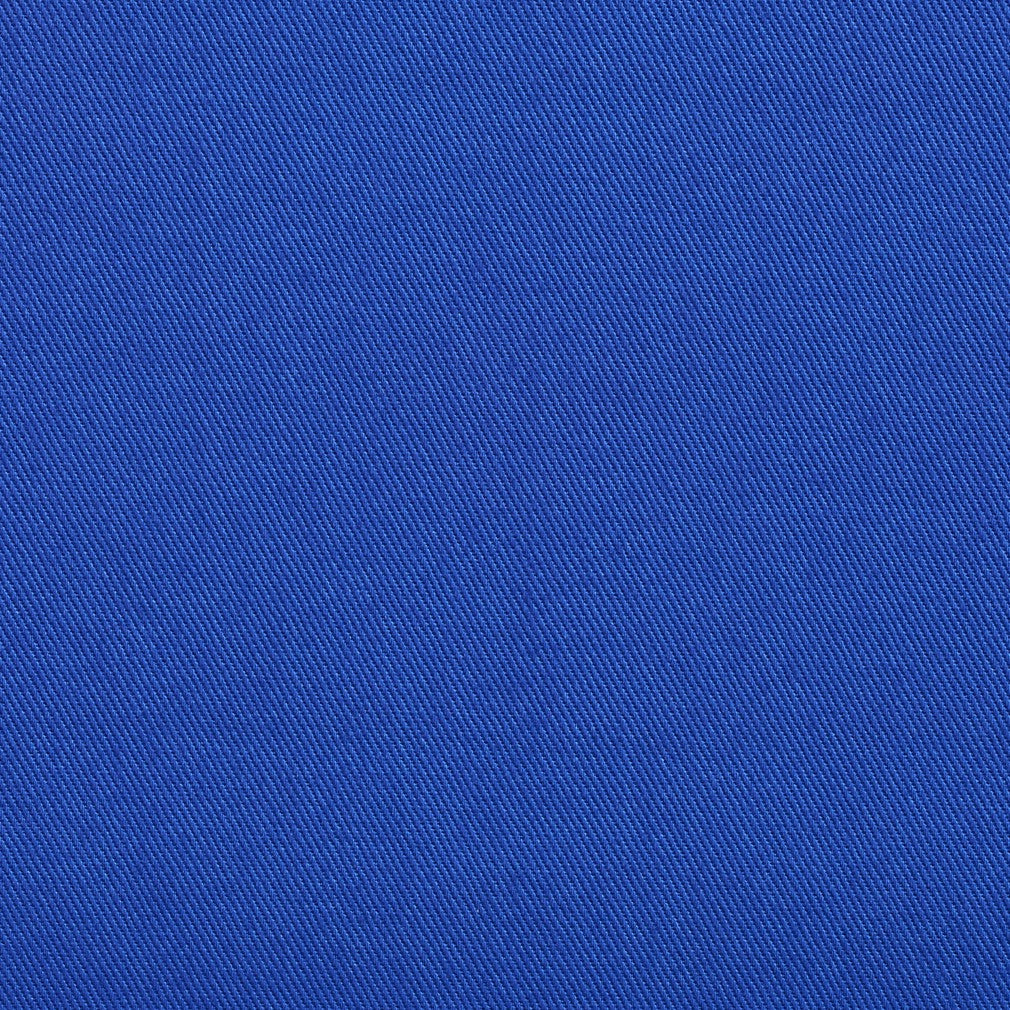 Cotton Twill Blue Upholstery Fabric Royal Fabric Bistro Columbia