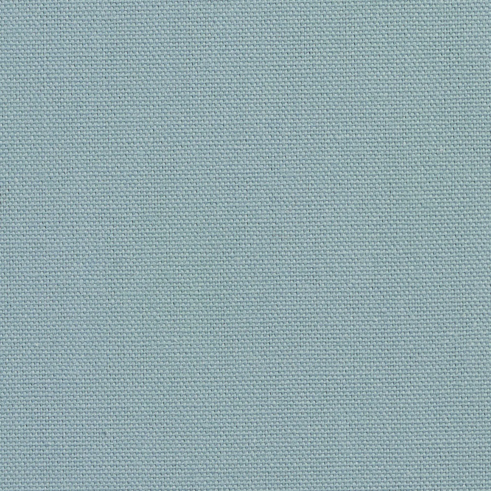 Essentials Cotton Duck Blue Upholstery Drapery Fabric / Seamist