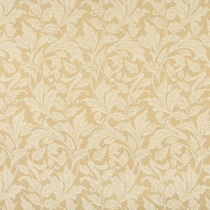 Essentials Indoor Outdoor Upholstery Drapery Botanical Fabric Beige / Sand Leaf