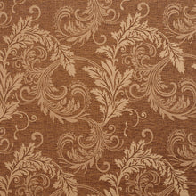 Load image into Gallery viewer, Essentials Heavy Duty Upholstery Drapery Botanical Fabric Brown / Harvest Leaf