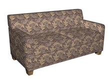 Load image into Gallery viewer, Essentials Heavy Duty Upholstery Drapery Botanical Fabric Brown / Java Leaf
