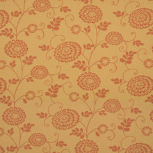Load image into Gallery viewer, Essentials Outdoor Upholstery Drapery Botanical Fabric / Coral