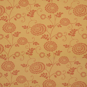 Essentials Outdoor Upholstery Drapery Botanical Fabric / Coral