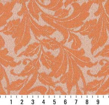 Load image into Gallery viewer, Essentials Indoor Outdoor Upholstery Drapery Botanical Fabric Coral / Nectar Leaf
