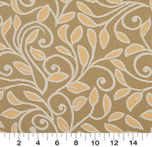 Load image into Gallery viewer, Essentials Outdoor Upholstery Drapery Botanical Leaf Fabric / Brown Coral