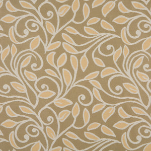 Essentials Outdoor Upholstery Drapery Botanical Leaf Fabric / Brown Coral