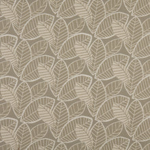Load image into Gallery viewer, Essentials Outdoor Upholstery Drapery Botanical Leaf Fabric / Gray