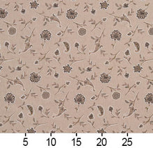 Load image into Gallery viewer, Essentials Botanical Tan Brown Black Rose Floral Print Upholstery Drapery Fabric
