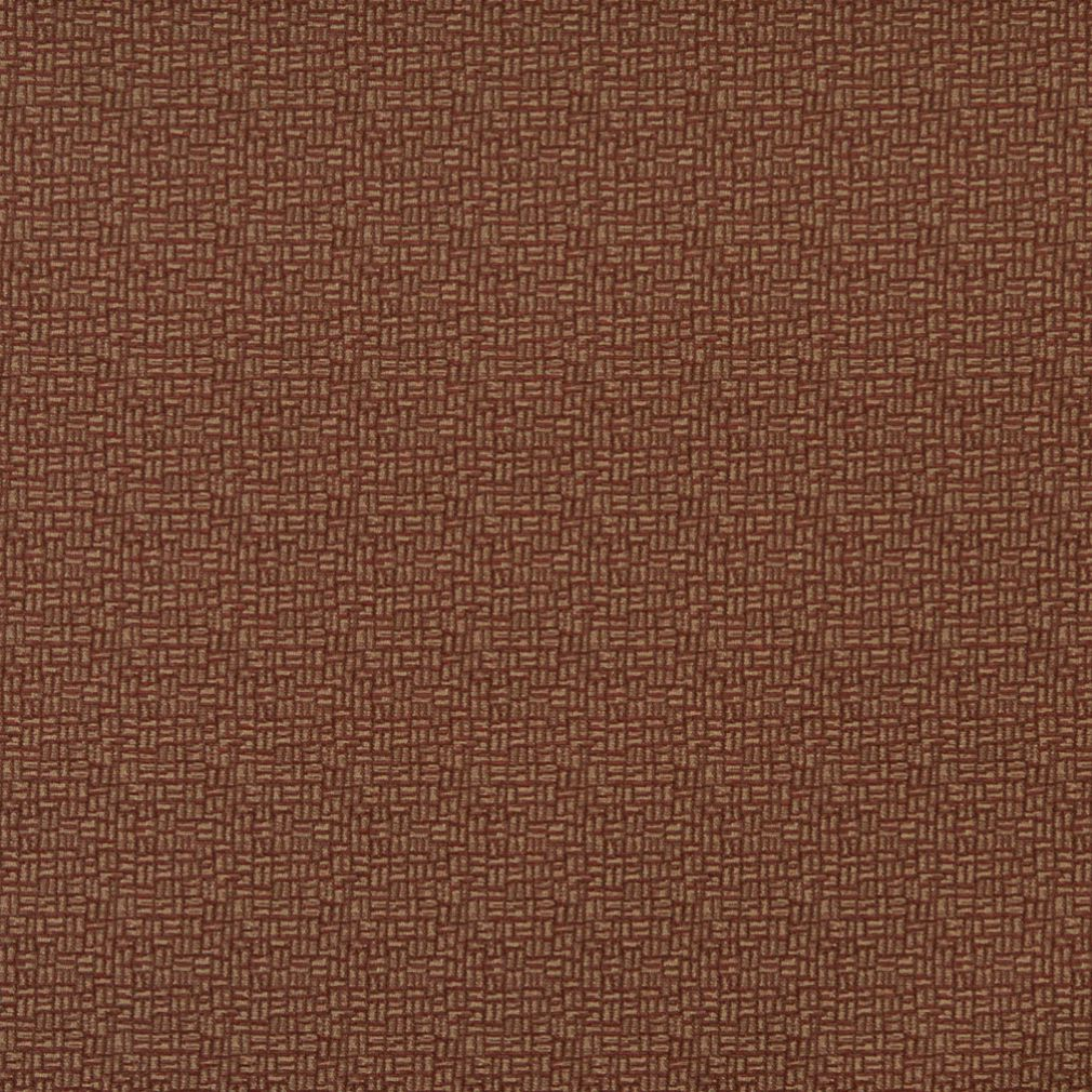 Essentials Brown Abstract Upholstery Fabric / Merlot