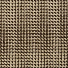 Load image into Gallery viewer, Essentials Brown White Upholstery Fabric / Desert Houndstooth