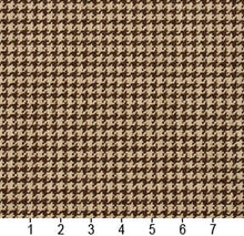Load image into Gallery viewer, Essentials Brown Beige Upholstery Fabric / Desert Houndstooth