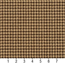 Load image into Gallery viewer, Essentials Brown Beige Upholstery Fabric / Espresso Houndstooth