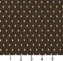 Load image into Gallery viewer, Essentials Brown Beige White Upholstery Fabric / Desert Dot