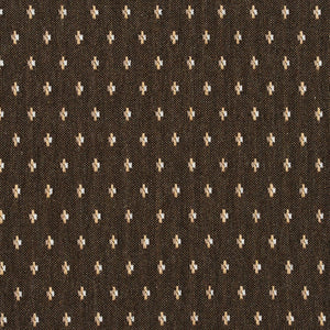 Essentials Brown Beige White Upholstery Fabric / Desert Dot