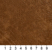 Load image into Gallery viewer, Essentials Breathables Saddle Brown Heavy Duty Faux Leather Upholstery Vinyl / Canyon