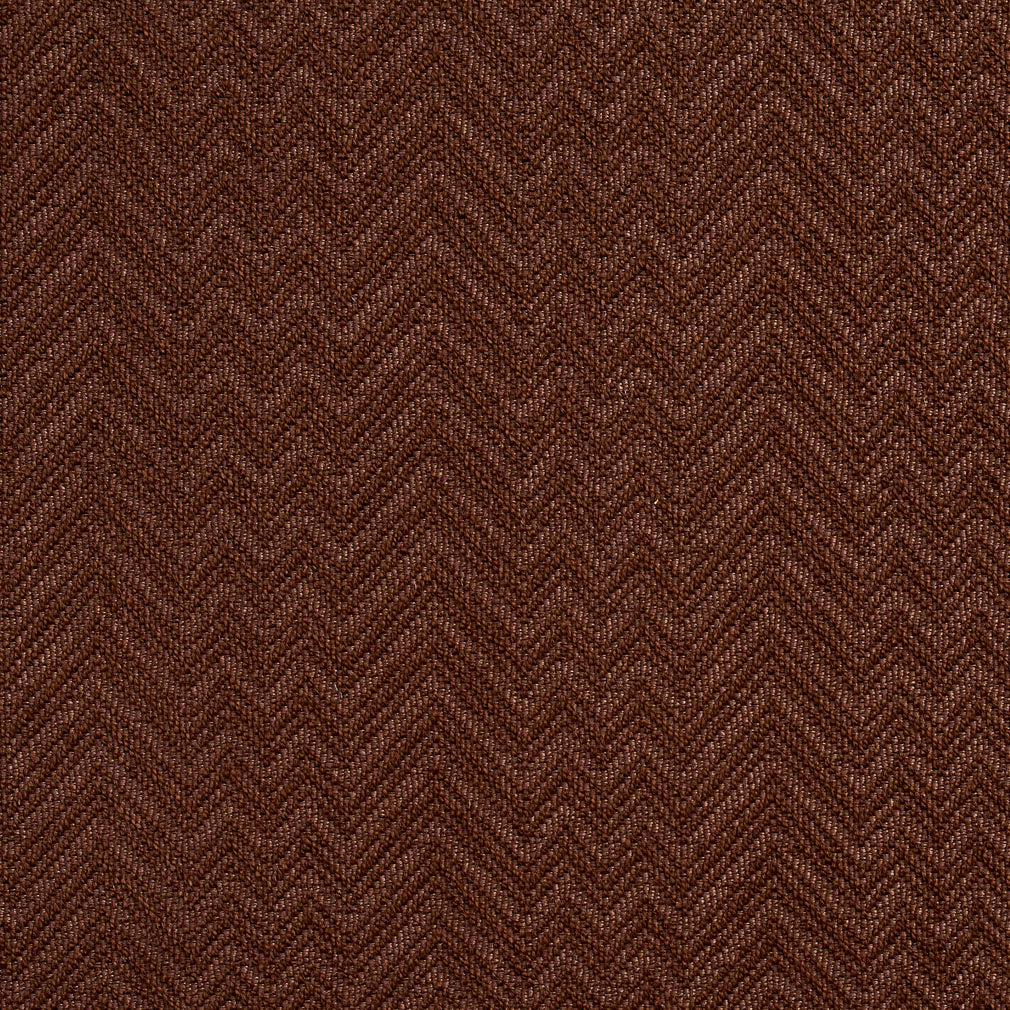 Essentials Crypton Brown Chevron Geometric Upholstery Fabric / Cocoa