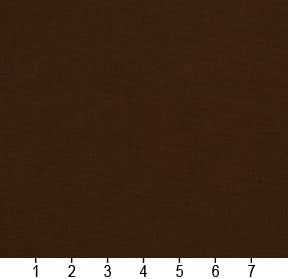 Essentials Cotton Duck Brown Upholstery Drapery Fabric / Chocolate