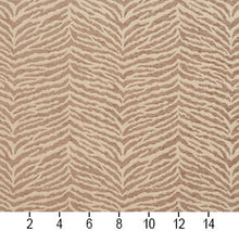 Load image into Gallery viewer, Essentials Chenille Brown Cream Animal Pattern Zebra Tiger Upholstery Fabric