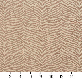 Essentials Chenille Brown Cream Animal Pattern Zebra Tiger Upholstery Fabric